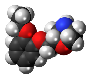 Viloxazine - Image: Viloxazine molecule spacefill