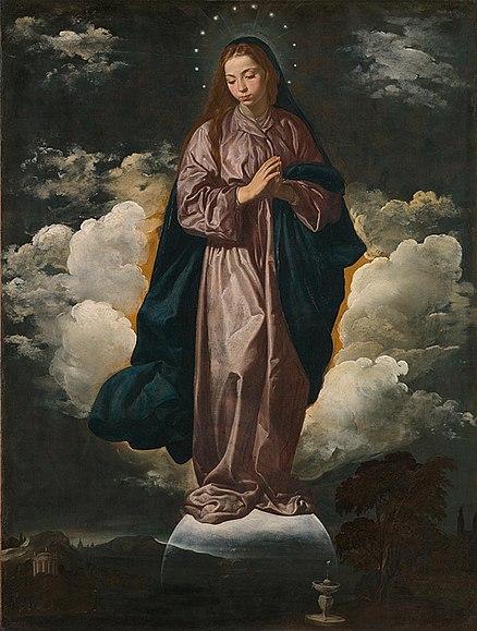 438px-Virgin_Mary_-_Diego_Velazquez.jpg