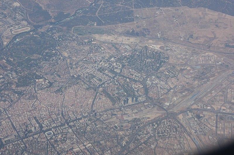 File:Vista aérea de Madrid (España) 03.jpg