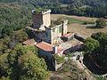 Vista aérea del castillo de Pambre 6.JPG