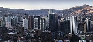 Vista de Sopocachi La Paz