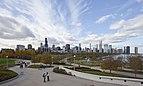 Vista del skyline de Chicago desde el Museo Field, Chicago, Illinois, Estados Unidos, 2012-10-20, DD 01.jpg