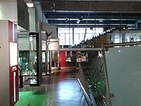Vista interior i auditori del Museu Olímpic i de l'Esport.jpg