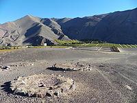 Vista parcial del recinto arqueologico Fundición Inca Diaguita Viña del Cerro.JPG