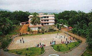 Chemperi town in Kerala, India