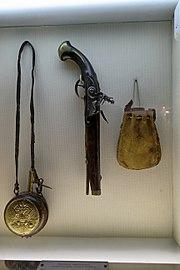 Vladimir The Vladimir-Suzdal history architecture and art museum Powder box handgun and bag of bullets IMG 0206 1725