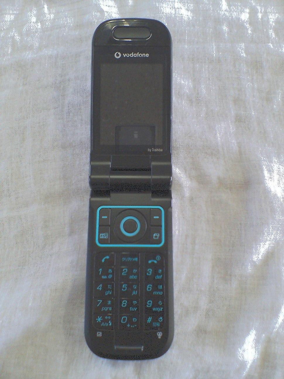 Vodafone 803T Soul Black open