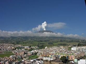 Pasto, Colombia - Galeras Volcano.