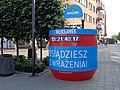 Włocławek-installation at Grodzki Square.jpg