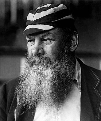 W. G. Grace - Grace photographed by George Beldam c.1902