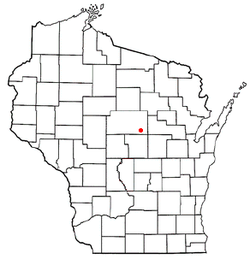Location of Bevent, Wisconsin