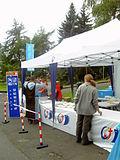 Ein mobiles Restaurant im Einsatz (Siegburg-Kaldauen)