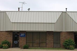 Media in Detroit - WPXD-TV offices in Ann Arbor, Michigan
