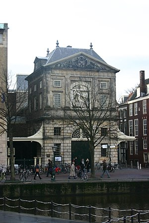 Pieter Post - Image: Waag Leiden