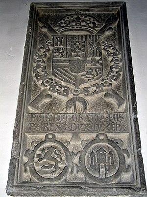 Marche-en-Famenne - Commemorative stone Perpetual Edict (1577)
