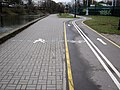 Walking and cycling paths, Minsk 01.jpg