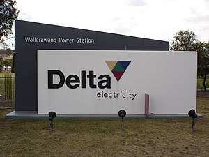 Delta Electricity - Image: Wallerawang Power Station 1