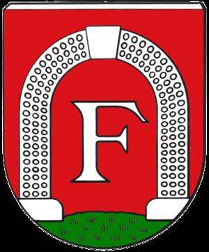 Dampfnudel - Coat of arms of Freckenfeld, Rhineland-Palatinate