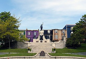 National War Memorial (Newfoundland) - The National War Memorial in St. John's, Newfoundland