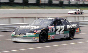 Ward Burton - Burton's 1997 MBNA racecar