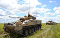Warrior Infantry Fighting Vehicle on Exercise with 12 Mechanized Brigade in Canada MOD 45153130.jpg