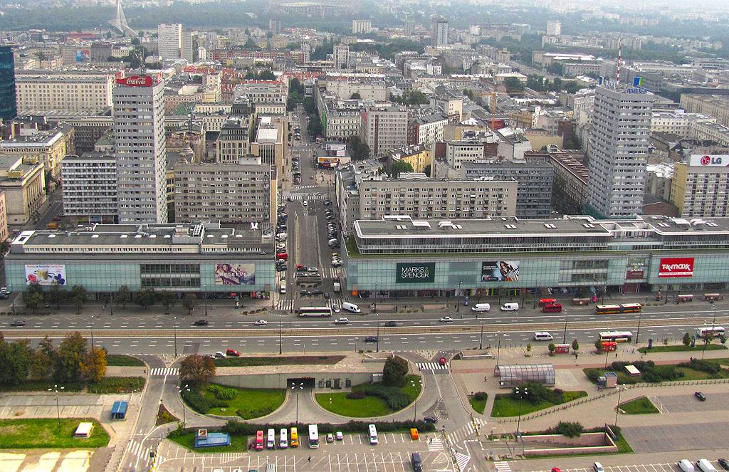 Warsaw Marszalkowska street