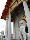 Entrada al templo de mármol