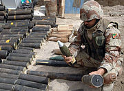 Weapons cache basra