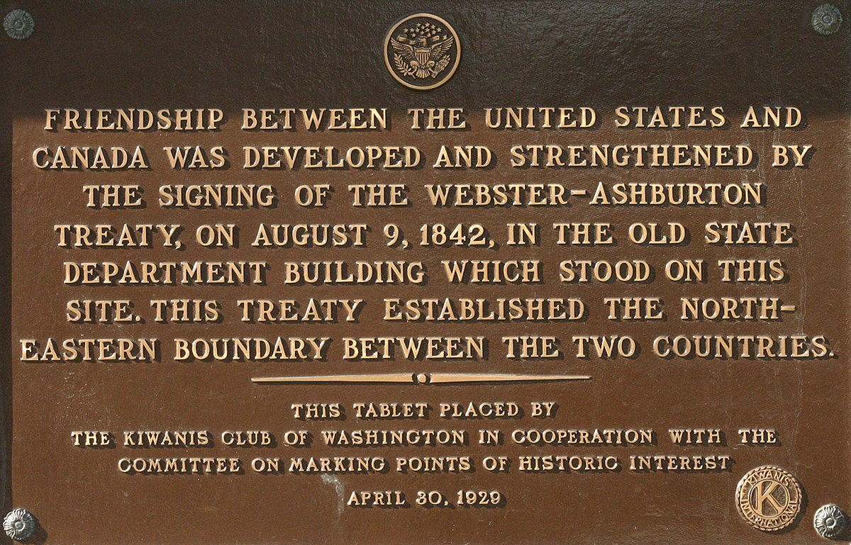 an analysis of the webster ashburton treaty in 18th century Webster-ashburton treaty, aug, 1842, agreement concluded by the united states, represented by secretary of state daniel webster, and other clauses provided for cooperation in the suppression of the slave trade and for mutual extradition of criminals some disputes between the united states and.