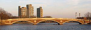 John W. Weeks Bridge - The Weeks Bridge in March 2006