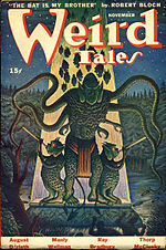 Weird Tales cover image for November 1944