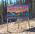 Welcome to Clear Creek County, Idaho Springs-Empire-Georgetown-Silver Plume, US 40 EB.jpg
