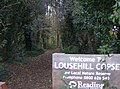 Welcome to Lousehill Copse - geograph.org.uk - 611942.jpg