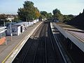 Welling station high eastbound.JPG