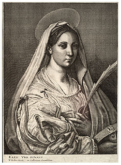 Wenceslas Hollar - St Catharine of Alexandria (State 2).jpg