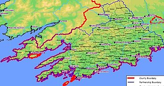 West Cork - Map of West Cork