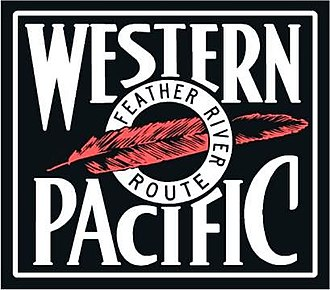 Western Pacific Railroad - Former WP logo