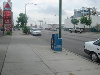 Western Avenue (Chicago) major north-south thoroughfare in Chicago, Illinois, United States