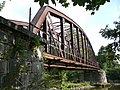 Western side of the abandoned railway bridge in Ottmachau.jpg