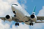 Westjet 737 (6034180162).jpg