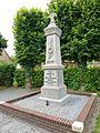 Westrehem (Pas-de-Calais, Fr) monument aux morts.JPG