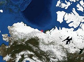 island in Yukon, Canada