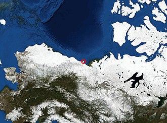 Herschel Island - Location of Herschel Island
