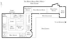 West Wing Map West Wing : Map (The Full Wiki) West Wing Map