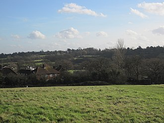 Whitings Hill Open Space - Image: Whitings Hill view