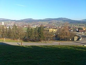 Wichtrach - Image: Wichtrach von Westen