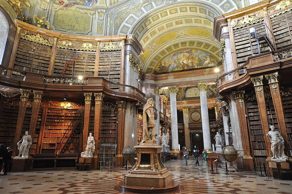 Wien, Österreichische Nationalbibliothek, Prunksaal (1726) (38751263875)
