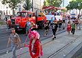Wien - Regenbogenparade, Demonstrationszug der ÖBB.JPG
