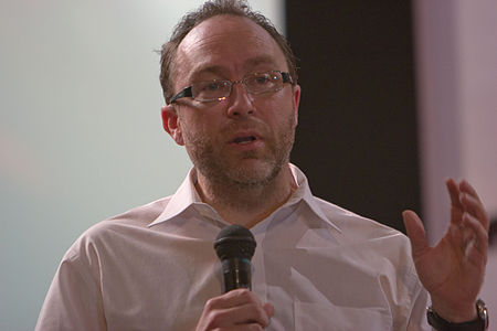 WikiConference India 2011 - Jimmy Wales.jpg