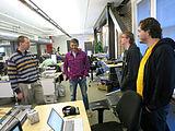 Wikimedia Multimedia Team - January 2014 - Photo 07.jpg